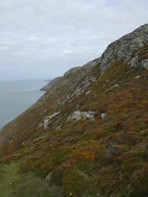 Cliffs at Braich Y Noddfa