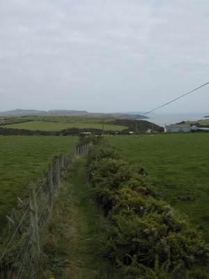 Raised footpath to Porth Meudwy