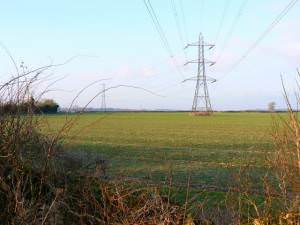 Powerlines near Baunton