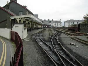 Porthmadog harbour station - Ffestiniog railway