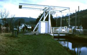 Canal bridge, Monmouthshire & Brecon Canal, Talybont 1978