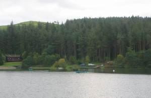 Beecraigs Reservoir.
