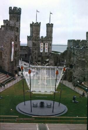 Caernarfon Castle 30 June 1969