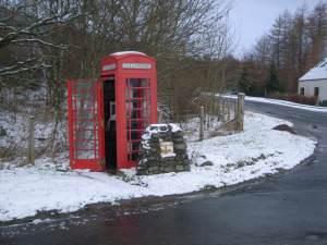 Balquhidder Station Telephone Kiosk
