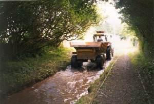 Ford in use, Carew Cheriton