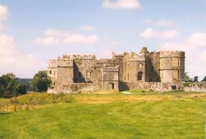 Carew Castle from the east
