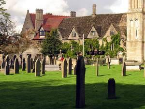 Malmesbury Abbey Graveyard