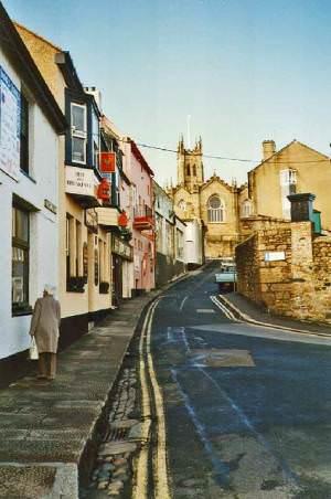Quay Street, Penzance, Cornwall