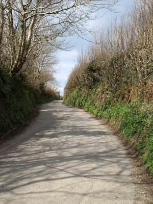 Lane to Delabole