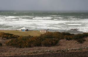Stormy Seas in Boyndie Bay