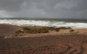 Boyndie Bay in Stormy Weather