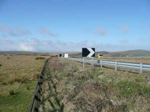 A30 across Bodmin Moor
