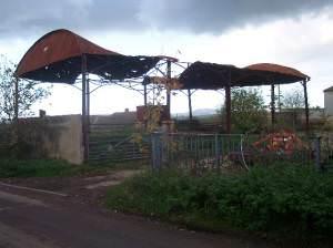 Dilapidated Barn, Peachley Court Farm
