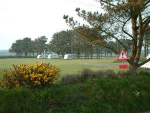 Caravan site at Hasguard Cross