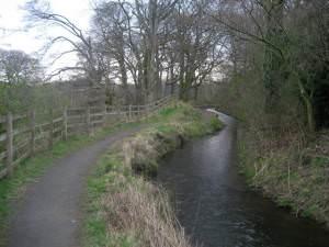 Water Channel near Shiel Mill