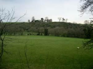View to Illieston Castle