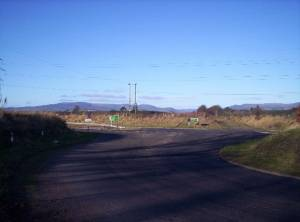 The Hillside junction of the A90