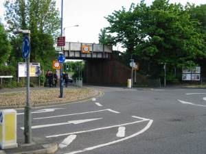 Railway bridge over the Herne Bay Road at Swalecliffe