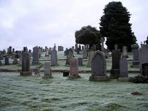 Cemetery at Crieff