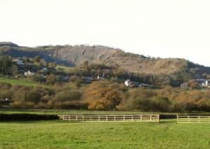Cilyrychen quarry at Llandyie