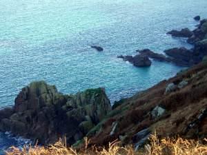 Wolf Rocks below Morvah Cliff