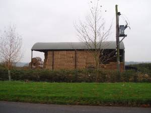 Haystack in a Pavenham barn