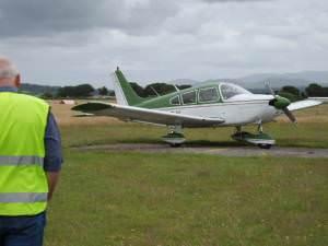 Light Aircraft at Caernarfon Airport