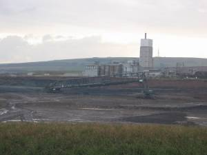Quarry, Dunbar cement works.