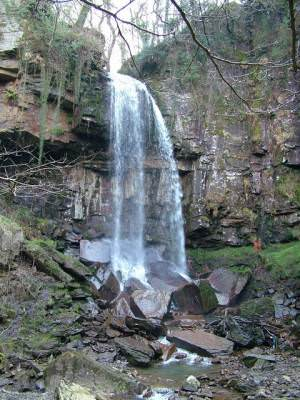 Melyncwrt water falls Nr Neath