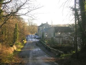 Greta Bridge village