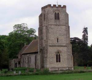 All Saints Church,  West Harling