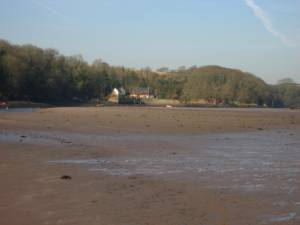 Sandy Haven from the beach