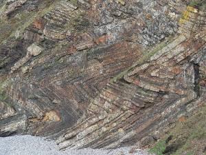 Carboniferous folds, Wanson Mouth