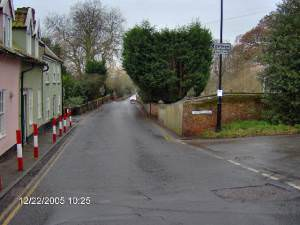 Junction of Earsham Street and Outney Road, Bungay