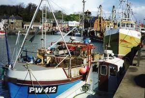 Padstow: inner harbour