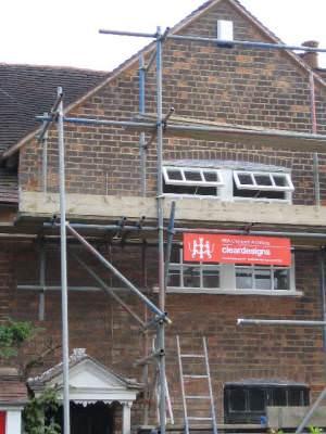 House restoration, Baldwins Hill