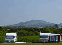 Field View of Diamond Farm Campsite