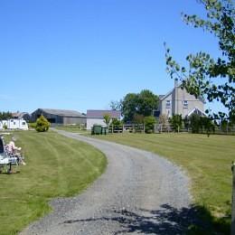 Y Fronydd Campsite - Entrance