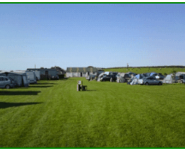 Drumroamin Campsite, VIew of Pitches