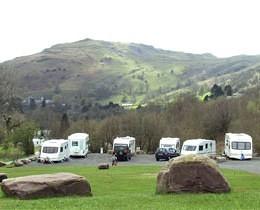 Dan Yr Ogof Caravans on Park
