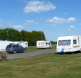 Tall Trees Caravan Park in Mansfield