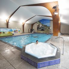 Newly refurbished for 2019 Indoor Pool