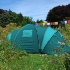 wetherdown campsite pitch