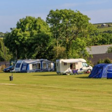 Court Farm Campsite, Near Newquay Cornwall