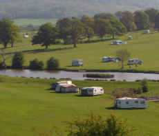 Eastnor Castle campsite - Deer Park