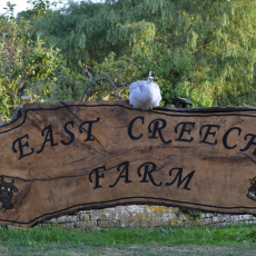 east creech farm sign
