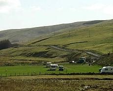 Lettershaws Farm, Abington Campsite.