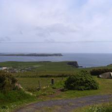 Shetland Campsite Levenwick