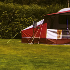 Eden Valley Campsite in Cornwall
