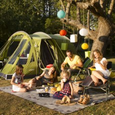 Orchard Campsite - Tent